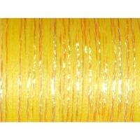 Glitzerfloss gelb