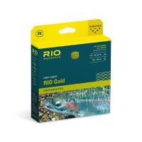 RIO Gold DualTone Fliegenschnur moss/gold
