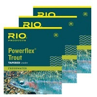 RIO Powerflex Trout Leader 15ft.