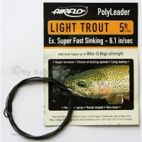 AIRFLO 5 ft. Polyleader Light Trout ESFS