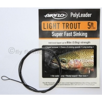 AIRFLO 5 ft. Polyleader Light Trout SFS