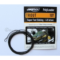 AIRFLO 10 ft. Polyleader Trout SFS  4.9 Sek..