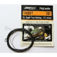 AIRFLO 10 ft. Polyleader Trout ESFS  6.1 Se..
