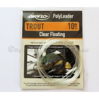 AIRFLO 10 ft. Polyleader Trout  Clear floating