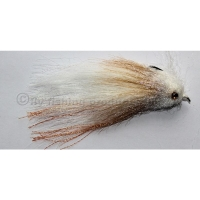 Crufty Sculpin White/Tan Grösse #4/0
