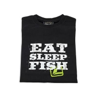 LOOP T-Shirt Eat Sleep Fish Black
