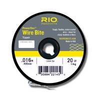 RIO Wire Bite Tippet 0,40mm 20 lb/10kg