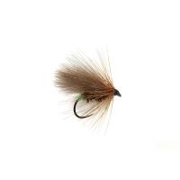 FULLING MILL SR Green Butt CDC Caddis Barbless 9658