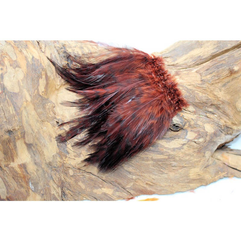 Barred Strung Neck Hackle Brown