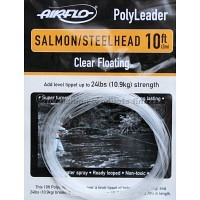 AIRFLO 10 ft. Polyleader Salmon/Steelhead Clear Floating