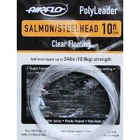 AIRFLO 10 ft. Polyleader Salmon/Steelhead Clear Floating