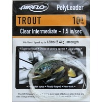 AIRFLO 10 ft. Polyleader Trout Clear Int.