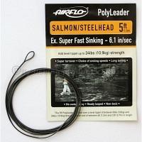 AIRFLO 5 ft. Polyleader Salmon/Steelhead ESFS  6.1 Sek./m
