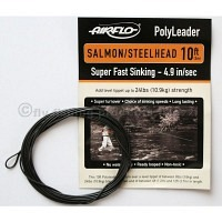AIRFLO 10 ft. Polyleader Salmon/Stealhead SFS  4.9 Sek./m
