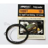 AIRFLO 10 ft. Polyleader Trout ESFS  6.1 Sek./m