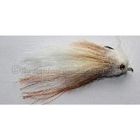 Crufty Sculpin White/Tan Grösse #4/0