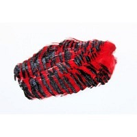 WAPSI Golden Pheasant Tippet Section Red